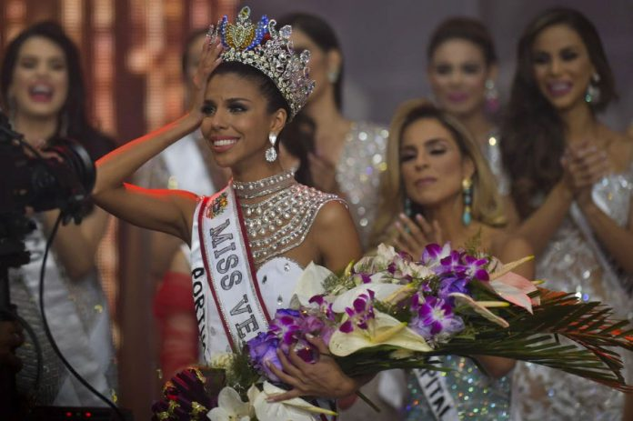 Isabella Rodríguez crowned as Miss Venezuela 2018