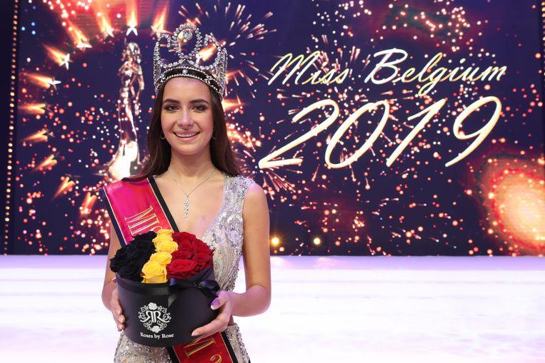 Elena Castro Suarez is Miss Belgium 2019