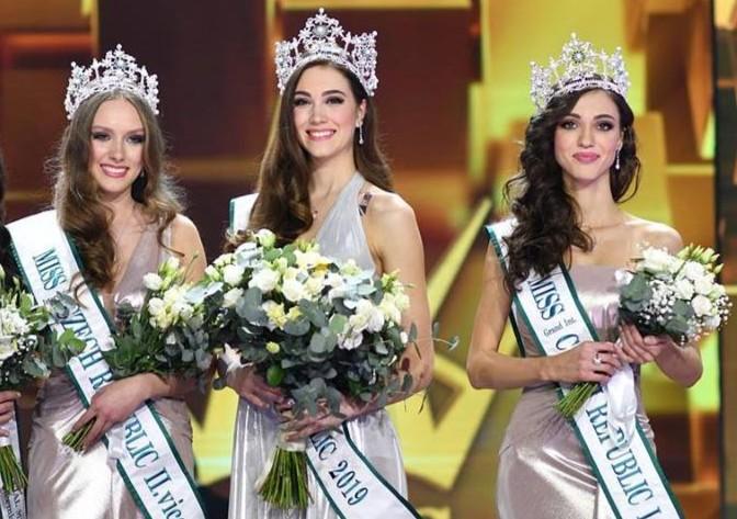 Miss Czech Republic 2019 Winners