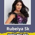 Rubeiya Sk will represent Tamil NAdu at Femina Miss India 2019
