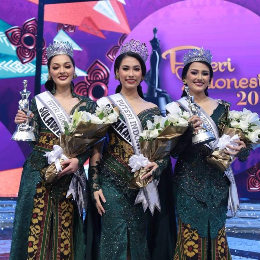 Puteri Indonesia 2019 winners