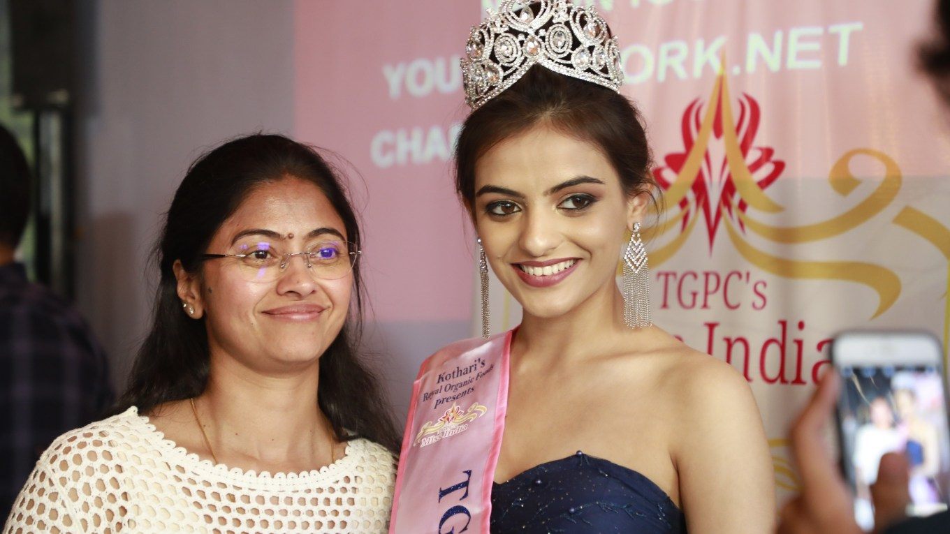 Ritija Singh from Indore crowned as TGPC's Miss India Season-6 Second Runner-up