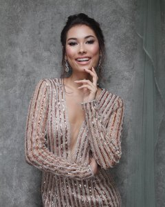 Frederika Alexis Cull will represent Indonesia at Miss Universe 2019