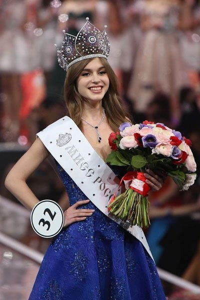 Alina Sanko crowned as Miss Russia 2019