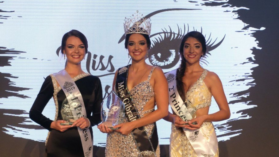 Celine Bolanos crowned as Miss Gibraltar 2019