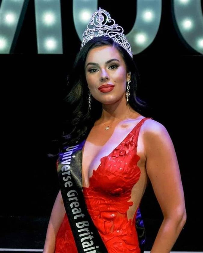 Emma Jenkins wins Miss Universe Great Britain 2019 – The