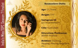Saumashree Dutta