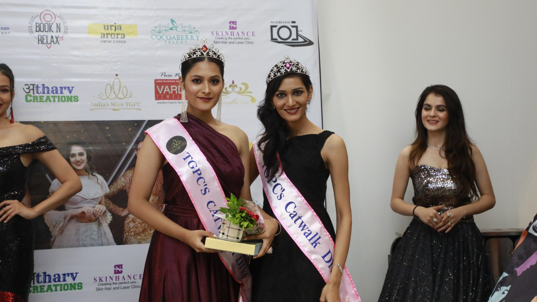 Giti Gour from Mumbai wins TGPC's Catwalk Diva Edition-3