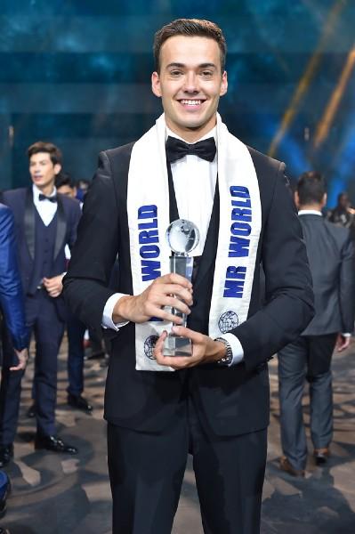 Jack Anthony Heslewood from England wins Mr. World 2019