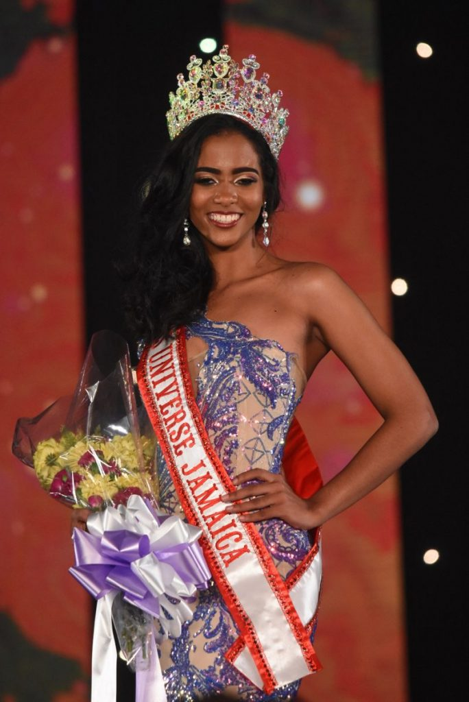 Iana Tickle Garcia crowned as Miss Universe Jamaica 2019