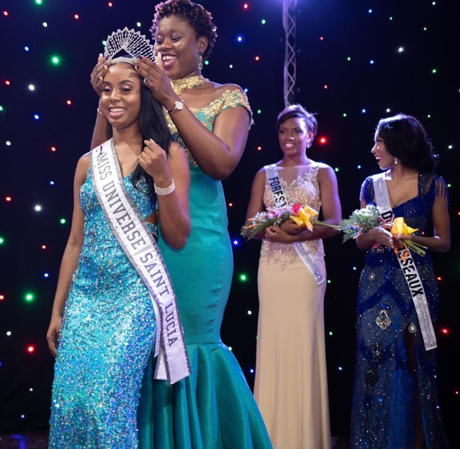 Bebiana Mangal crowned as Miss Universe Saint Lucia 2019