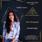 Miss Photogenic Mrinalini Rajak