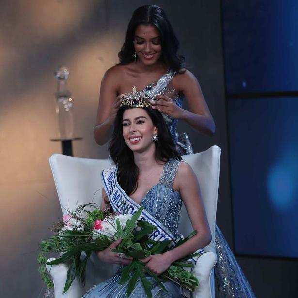 Daniella Rodríguez Laureano crowned Miss World Puerto Rico