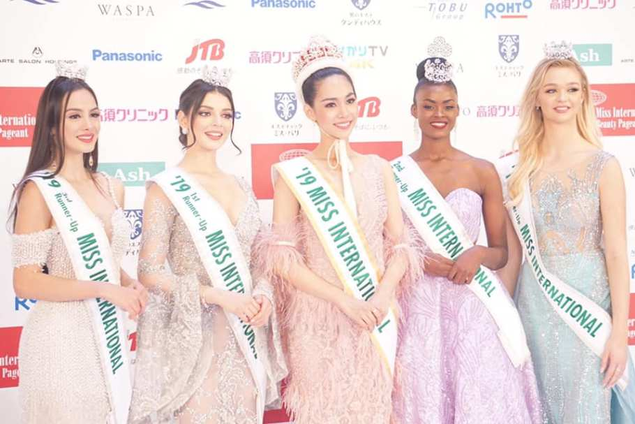 Sireethorn Leearamwat from Thailand wins Miss International 2019