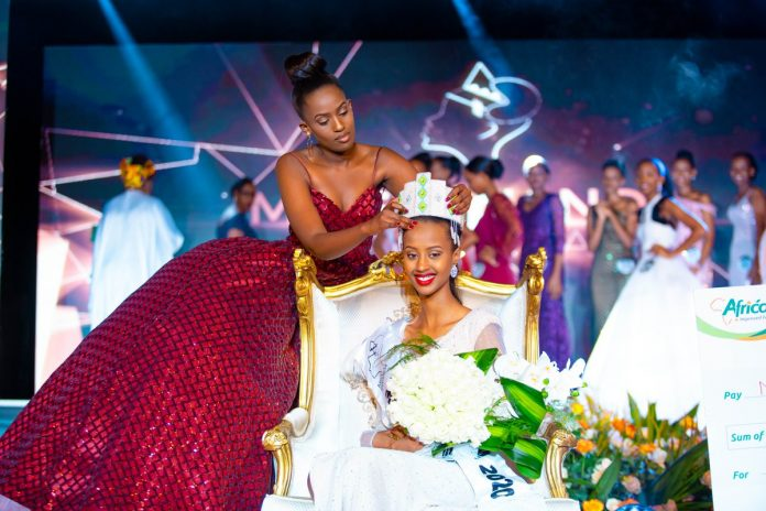 Naomie Nishimwe crowned as Miss Rwanda 2020