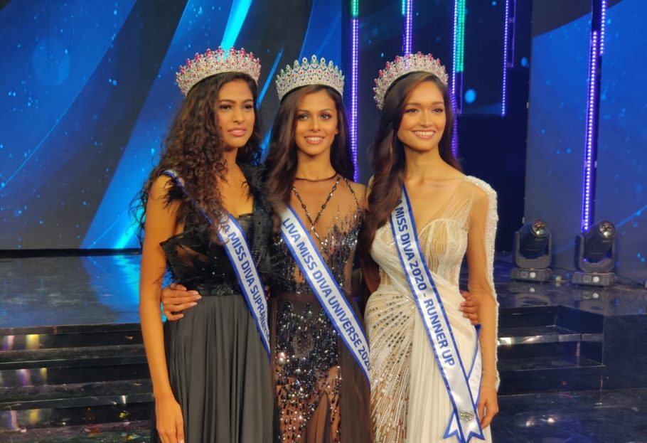 Adline Castelino wins Miss Universe India crown at Miss Diva 2020