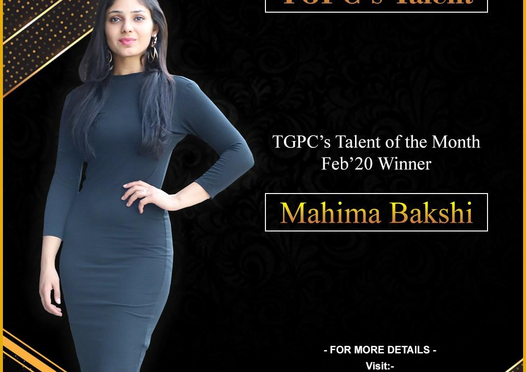 Mahima Bakshi
