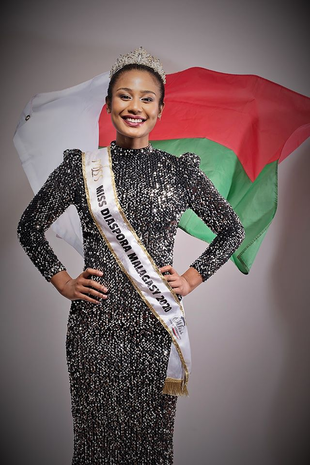 Nellie Anjaratiana crowned as Miss Madagascar 2020
