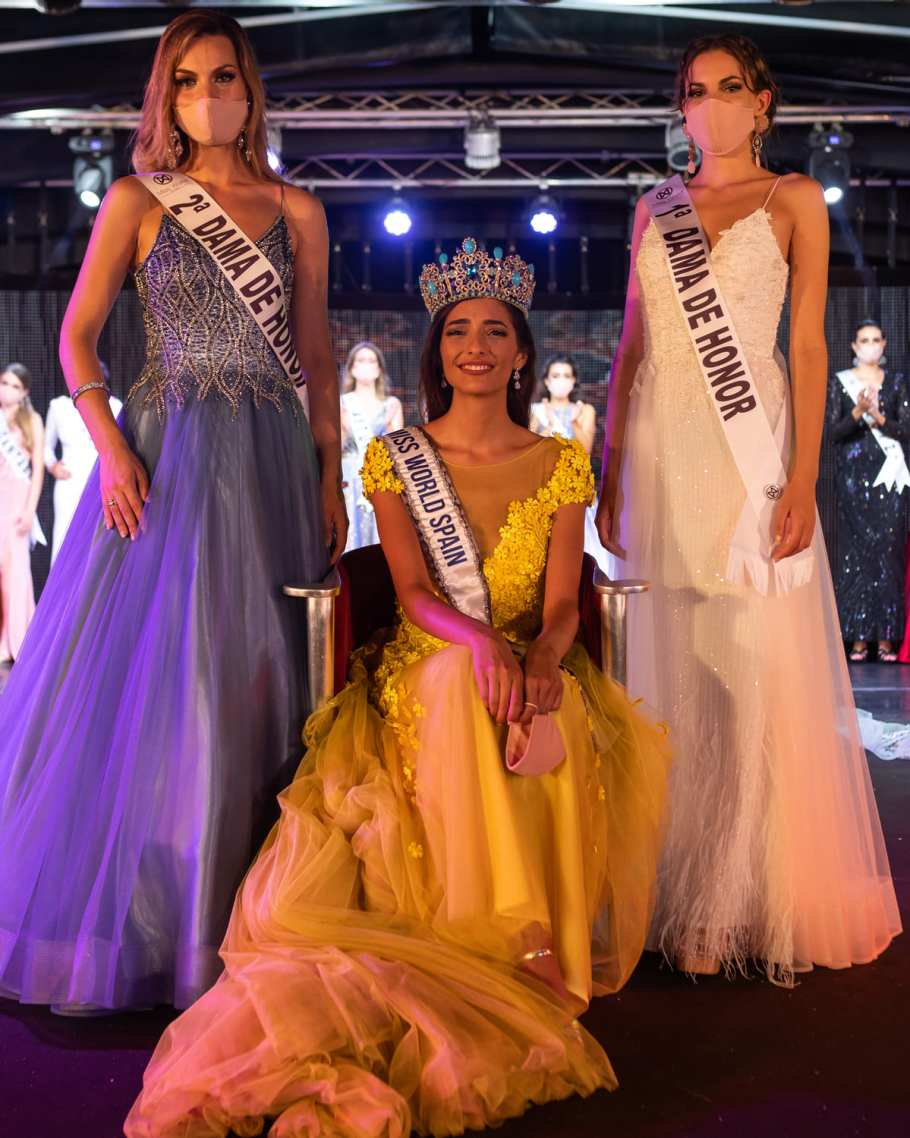 Ana García Segundo crowned as Miss World Spain 2020