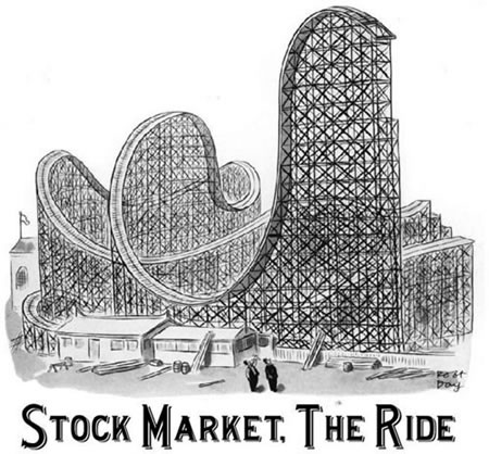 stock market roller coaster sets up 2019 recession
