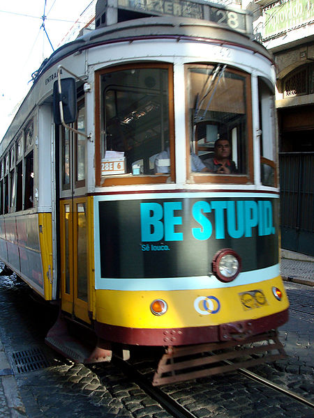 The Trumponomics Train may not be too smart. By a_marga from madrid, Spain (Be stupid) [CC BY-SA 2.0 (http://creativecommons.org/licenses/by-sa/2.0)], via Wikimedia Commons
