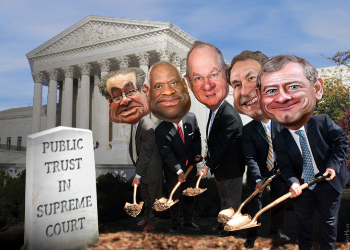 Uncovering the truth behind the conspiracies about who put Justice Antonin Scalia in the ground.