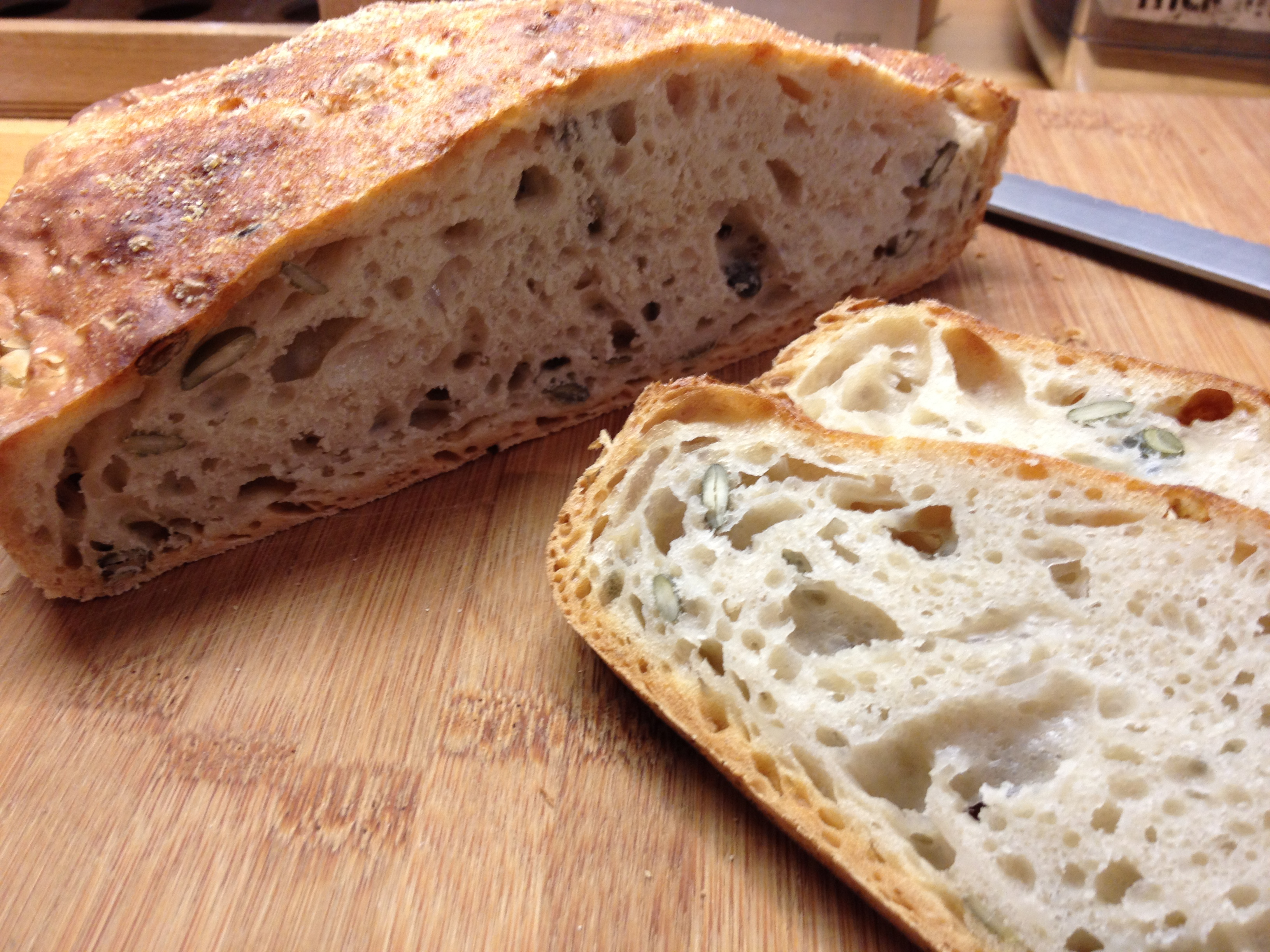 A Delicious And Simple Bread Recipe Thegreedymagpie