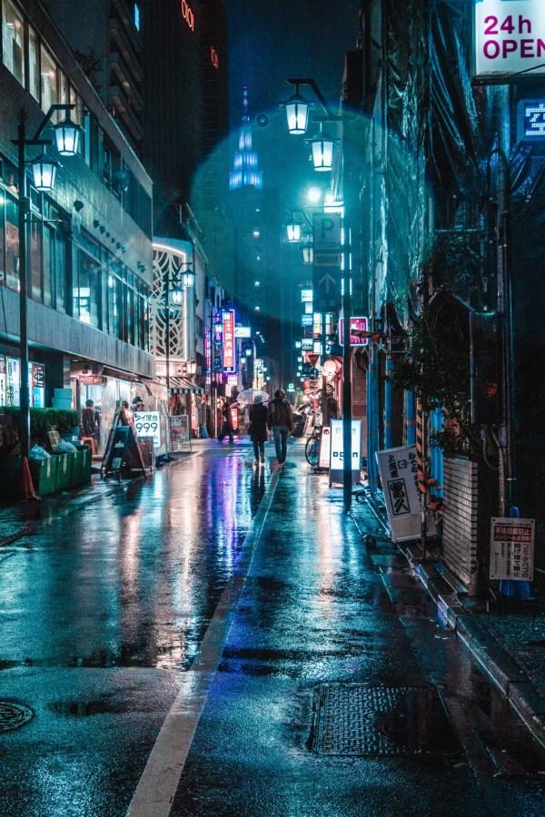 Rain in Shinjuku