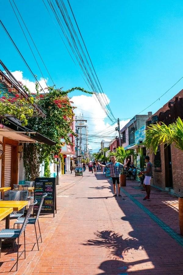 Street view in Santa Marta
