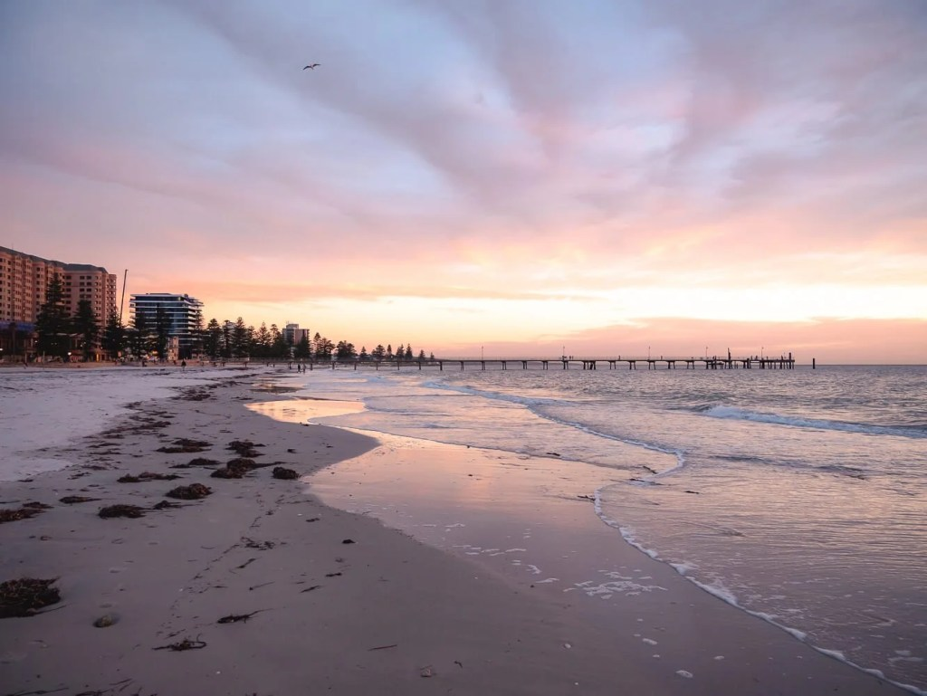Glenelg Beach Sunset