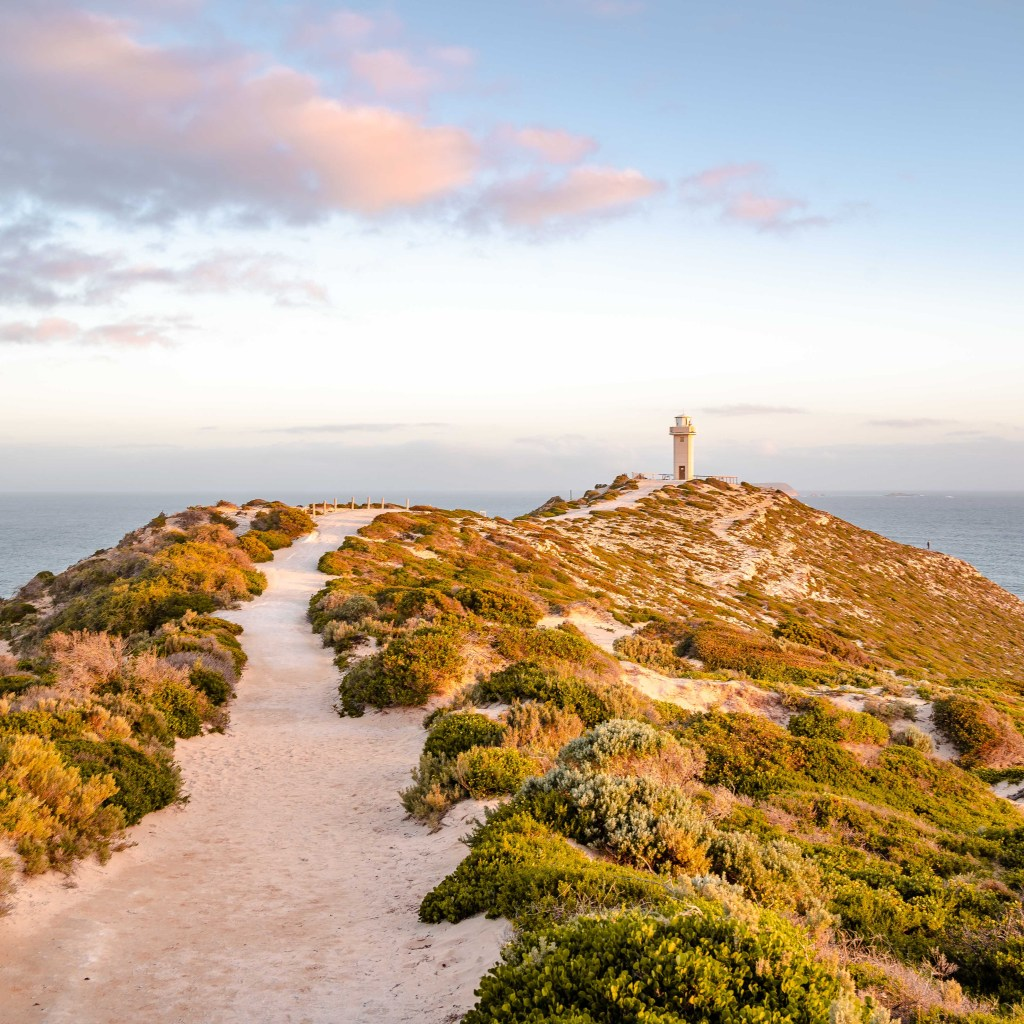 Cape Spencer Lighthouse Sunset
