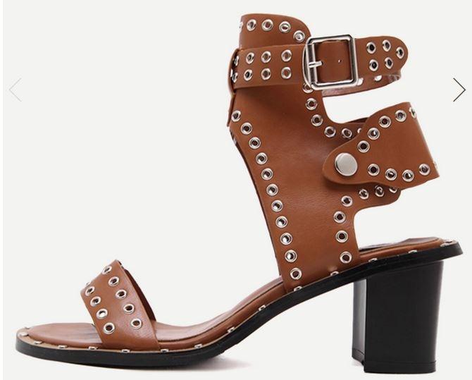shein, sandales femme, sheinside, mode femme