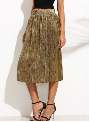 jupe dorée, jupe gold zara, zara, shein, dupe jupe, inspiration jupe zara, Inspirations jupes de marque et tendances