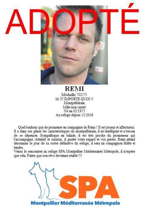 remi gaillard, spa, spa montpellier-cause animale-peta, #RemiEnCage 4 jours enfermé pour les animaux de la SPA de Montpellier, #RemiEnCage pour les animaux de la SPA de Montpellier