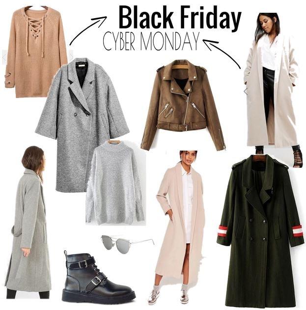 manteau femme oversize black friday