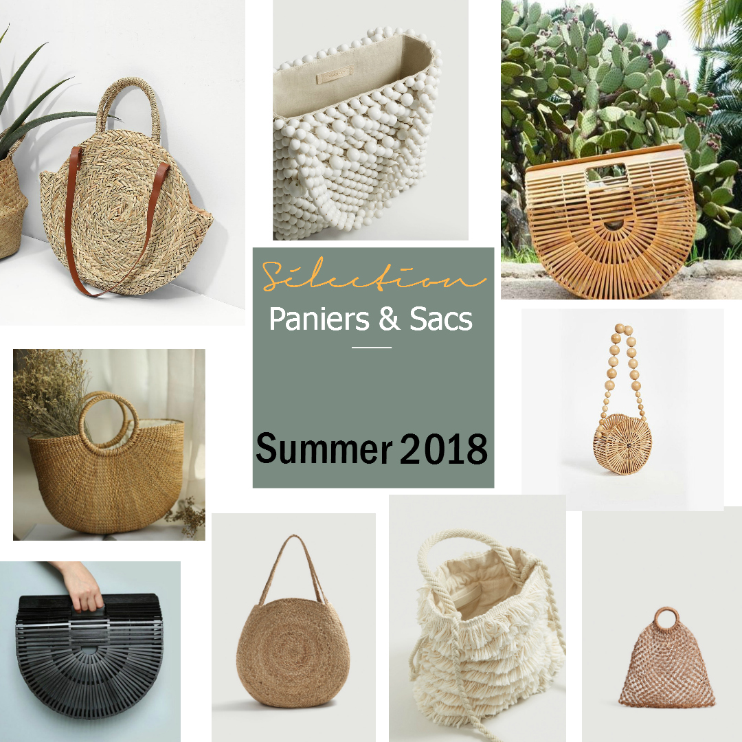 Sélection Sélection Summer 2018 Sacs Sacs Paniersamp; Paniersamp; 2018 Summer wP8k0On