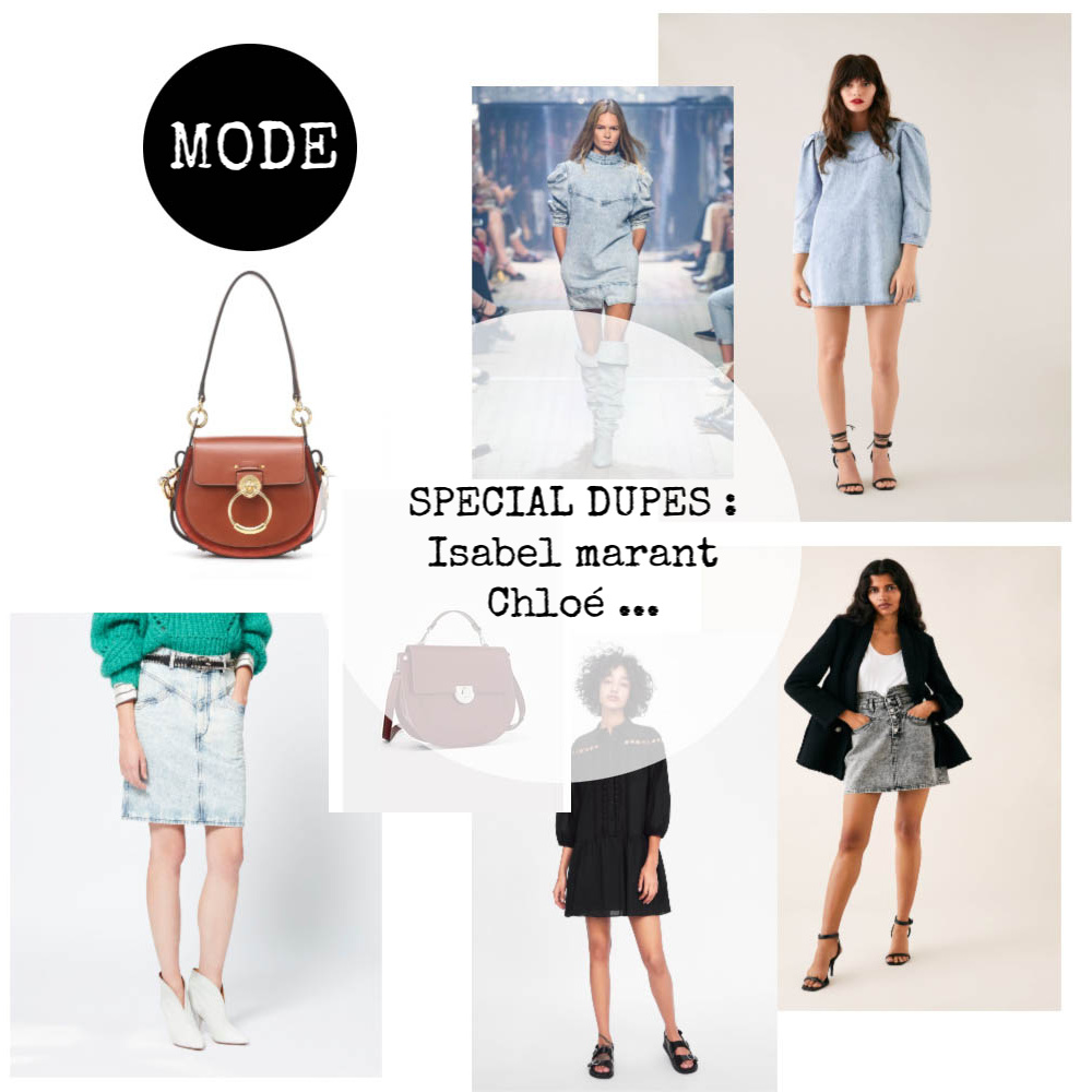 SPECIAL DUPES : ISABEL MARANT, CHLOÉ …