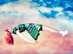 """ERIK MADIGAN HECK, UNTITLED Photograph of Mary Katrantzou's """"Expandit"""" dress, Fall 2012. Erik Madigan Heck / Trunk Archive."""