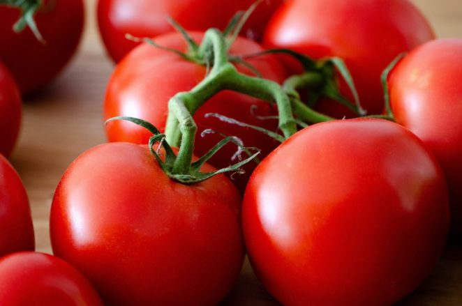 tomatoes as part of a great fruit consumption