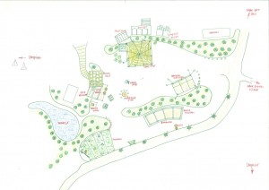 Plattegrond van The Green Circle