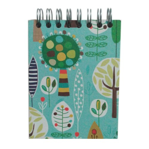 Mini Flip Notebook Forest