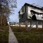 Na Eslováquia, outdoors viram abrigos para sem-teto