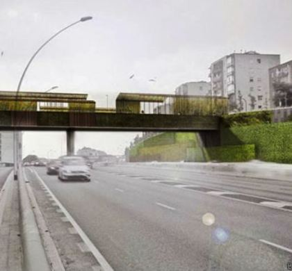 Conheça a ponte que 'come' a poluição do ar