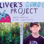 Menino de 6 anos cultiva horta no quintal para ajudar crianças com fome