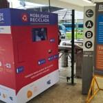 No RJ, passageiros podem trocar lixo reciclável por passagem de BRT