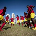 Time formado por refugiados de diferentes países competirá na Olimpíada do Rio