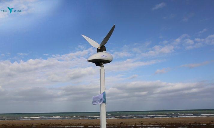 A turbina está em fase de testes na Tunísia.