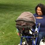 Estudante do Ensino Médio cria cadeira de rodas adaptada para mães cadeirantes poderem passear com seus bebês
