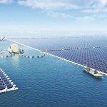 Duelo de titãs! China constrói maior usina flutuante de energia solar do mundo – e desbanca Japão