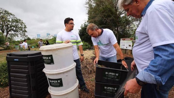 Para estimular hábito da compostagem, Florianópolis oferece curso e minhocário DE GRAÇA à população